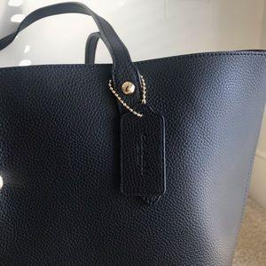 Coach Bags - Black Coach tote bag with garment bag.